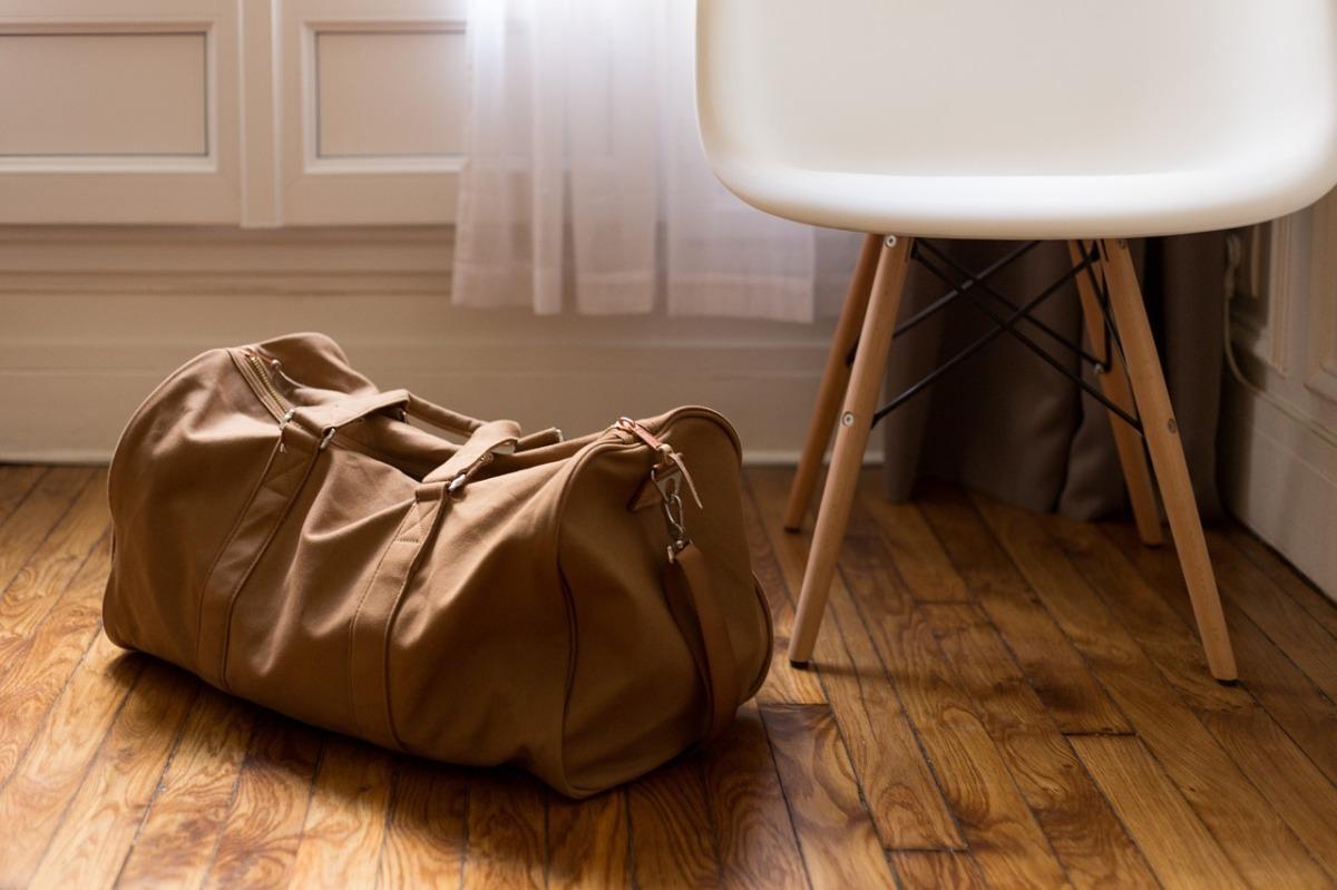 Organizando a mala de viagem