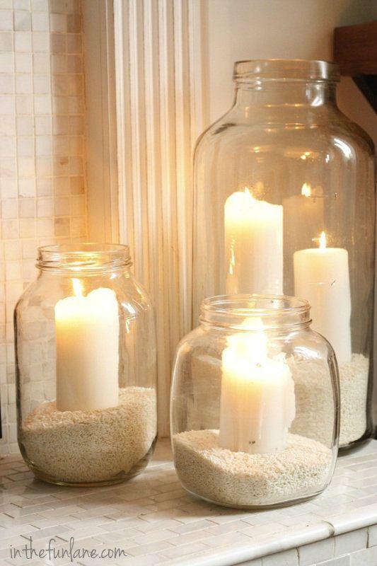 decoração-com-velas