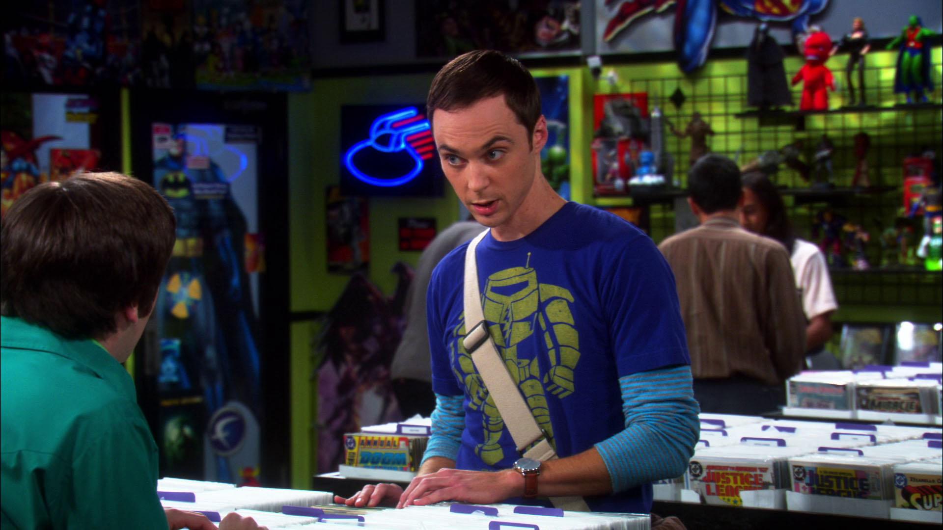 Sheldon-comic-book-store