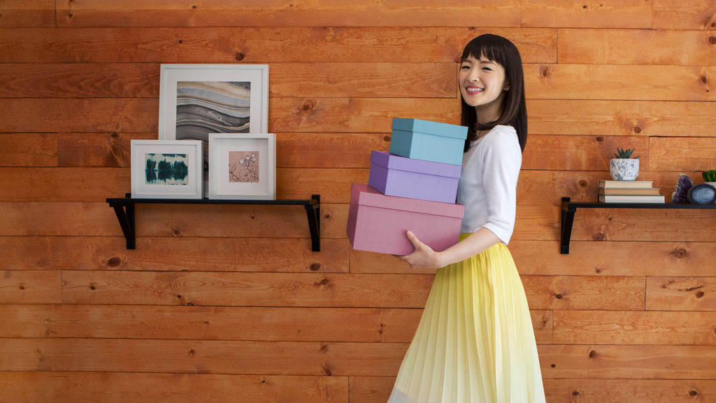 Ordem na casa com Marie Kondo: uma série sobre organização